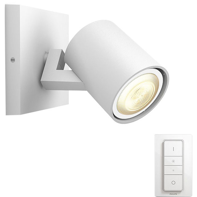 Philips Hue Runner Single Spotlight - A Rated - 915005403401 - 1
