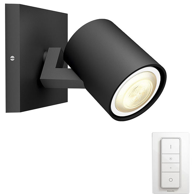 Philips Hue Runner Single Spotlight - A Rated - 915005403501 - 1