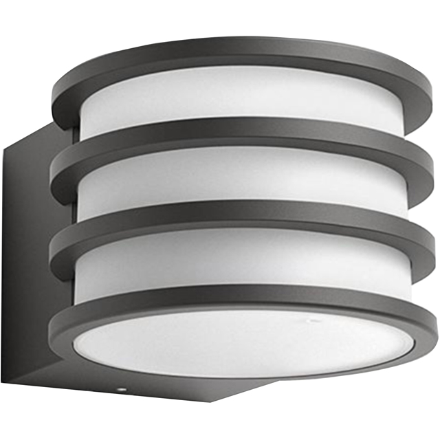 Philips Hue Lucca Outdoor Wall Light - A+ Rated - 915005561201 - 1