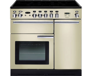 Rangemaster Professional Plus PROP90EICR/C 90cm Electric Range Cooker with Induction Hob - Cream - A/A Rated - PROP90EICR/C_CR - 1