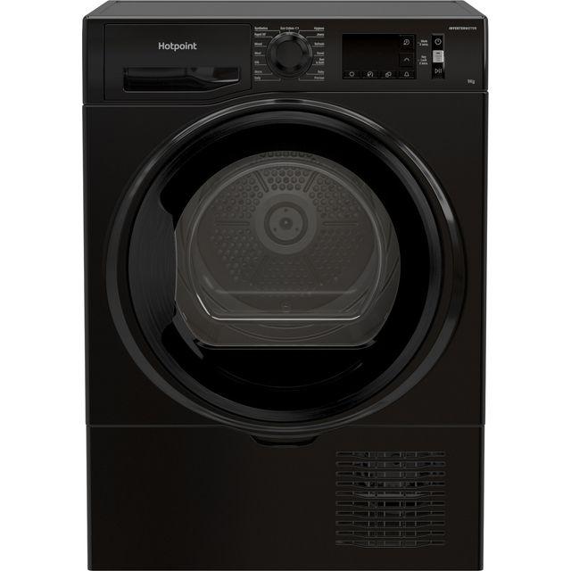 Hotpoint 9kg Freestanding Condenser Tumble Dryer - Black