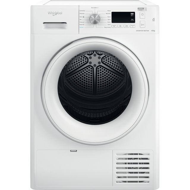 Whirlpool FFTM118X2UK 8Kg Heat Pump Tumble Dryer - White - A++ Rated