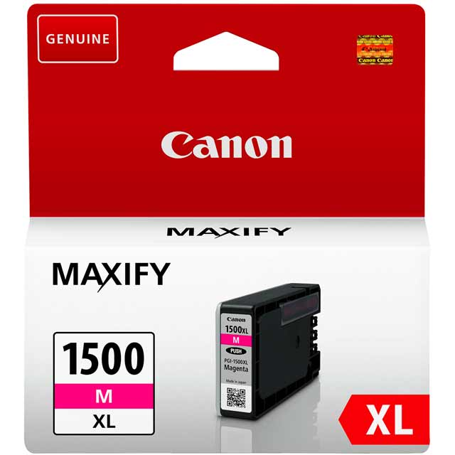 Canon PGI-1500XL High Yield Magenta Ink Cartridge