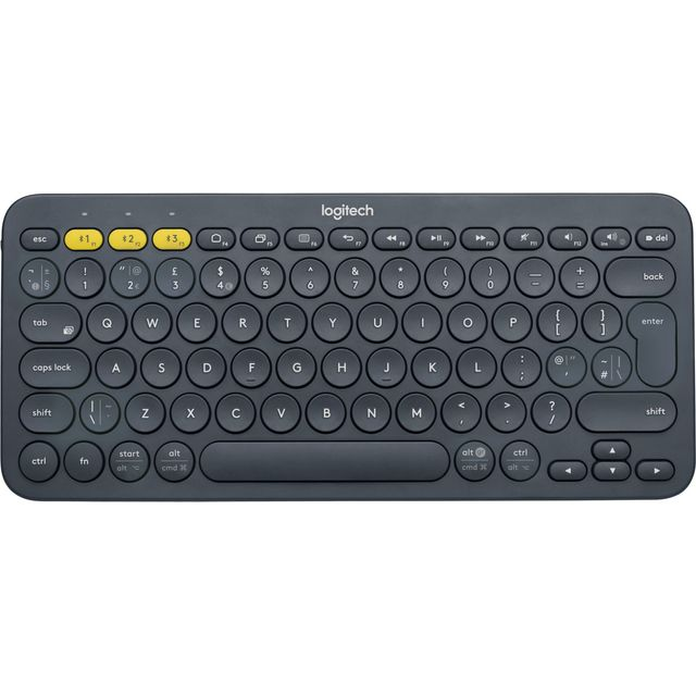 Logitech Multi-Device K380 Bluetooth Keyboard - Black - 920-007580 - 1
