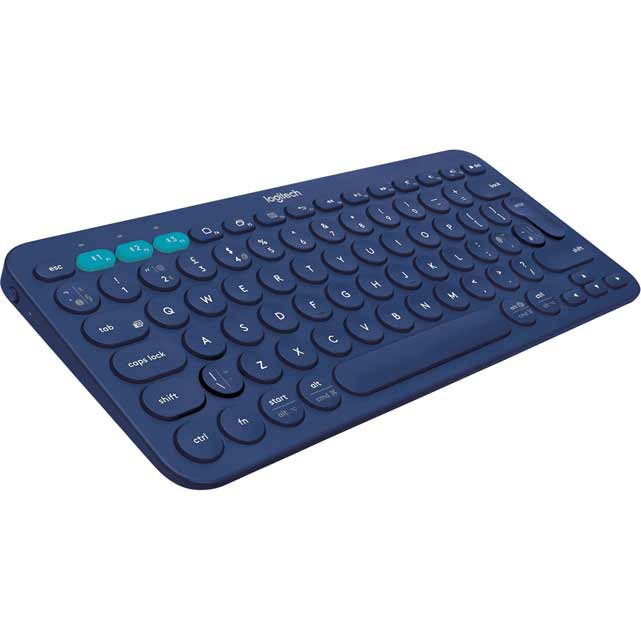 Logitech Multi-Device K380 Bluetooth Keyboard - Blue