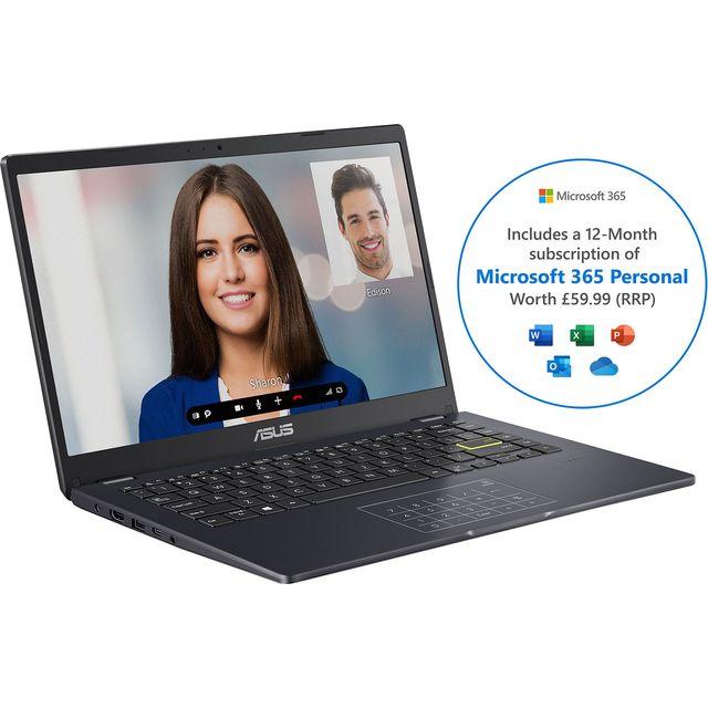 "Asus E410MA 14"" Laptop - Blue"