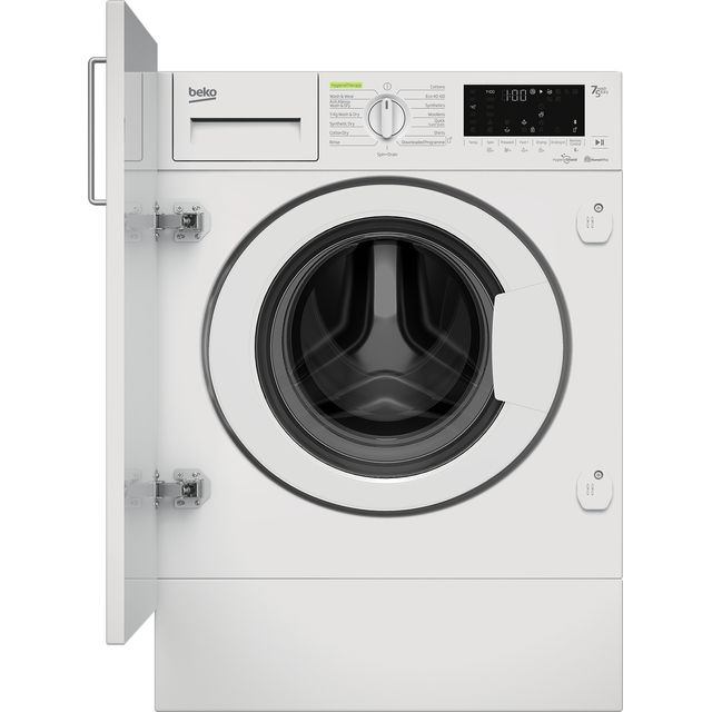 Beko WDIK754421 Integrated 7Kg / 5Kg Washer Dryer with 1400 rpm - White - C Rated