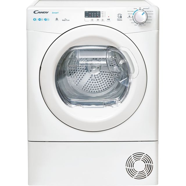 Candy CSEH8A2LE Wifi Connected 8Kg Heat Pump Tumble Dryer - White - A++ Rated