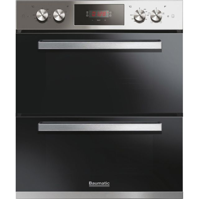 Baumatic BOS243X Built Under Electric Single Oven - Stainless Steel - A Rated