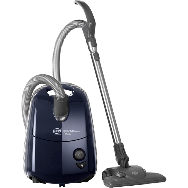 Sebo Airbelt E1 Komfort ePower 92624GB Cylinder Vacuum Cleaner - Dark Blue - 92624GB_DBL - 1