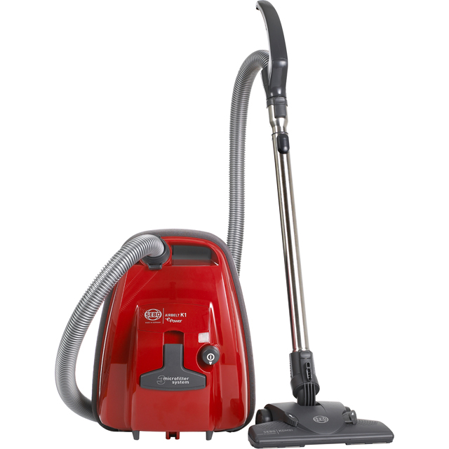 Sebo K1 ePower 92663GB Cylinder Vacuum Cleaner - Red - 92663GB_RD - 1