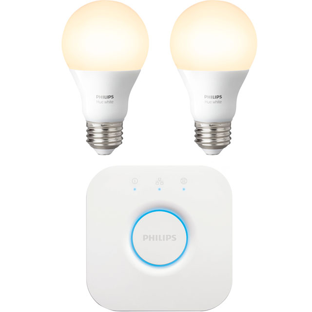 Philips Hue White E27 Starter - A+ Rated - 929001137002 - 1