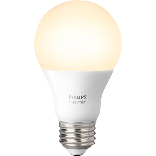 Philips Hue White E27 Single Lamp - A+ Rated - 929001137003 - 1