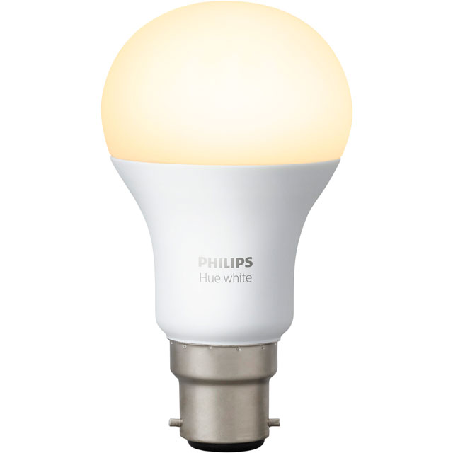 Philips Hue White B22 Single Lamp - A+ Rated