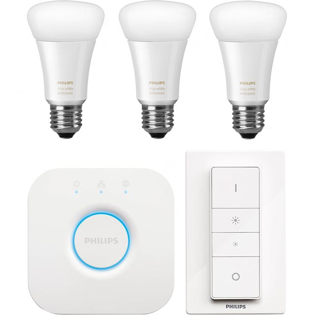 Philips Hue White Ambiance E27 Starter - A+ Rated