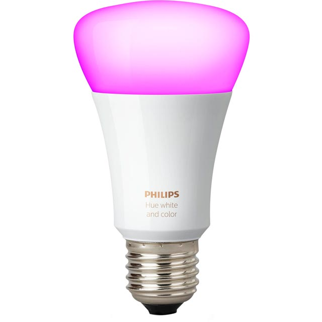 Philips Hue White and Colour Ambiance E27 Bulb - A+ Rated