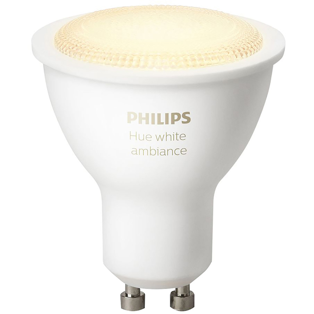 Philips Hue White Ambiance GU10 Single Lamp - A Rated - 929001257601 - 1