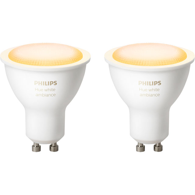 Philips Hue White Ambiance GU10 Twin Pack - 929001257603 - 929001257603 - 1