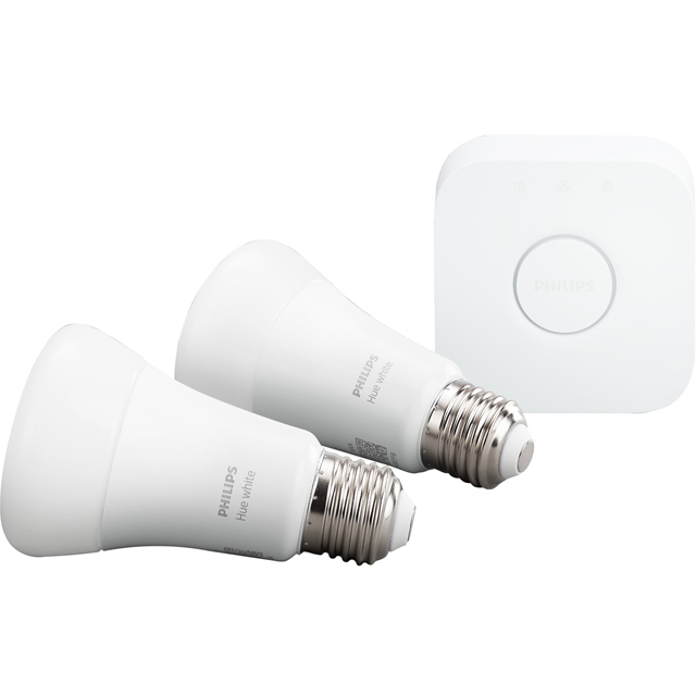 Philips Hue White Starter Kit (E27) - A+ Rated
