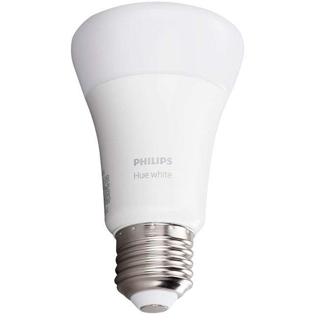 Philips Hue Warm White E27 Single Lamp - A+ Rated
