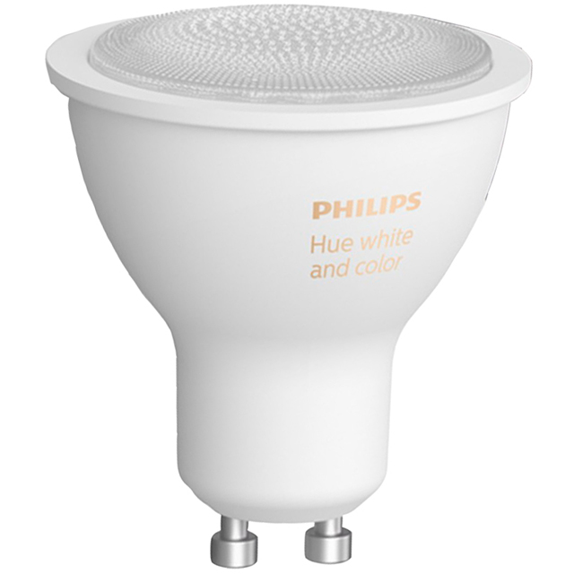 Philips Hue White and Colour Ambiance GU10 Single Lamp - 929001953101 - 929001953101 - 1