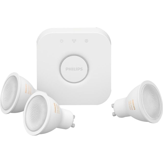 Philips Hue White and Colour Ambiance GU10 Triple Pack - A+ Rated
