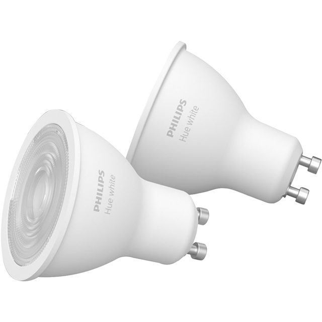 Philips Hue White GU10 Twin Pack - A+ Rated