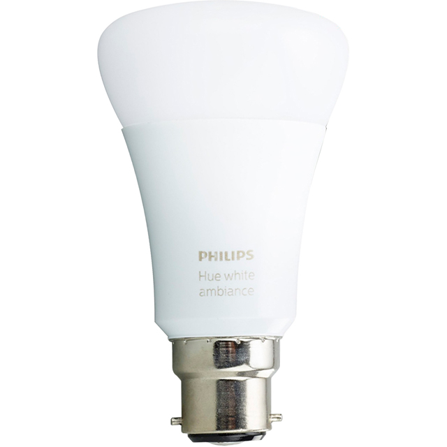 Philips Hue White Ambiance B22 Single Bulb - A+ Rated