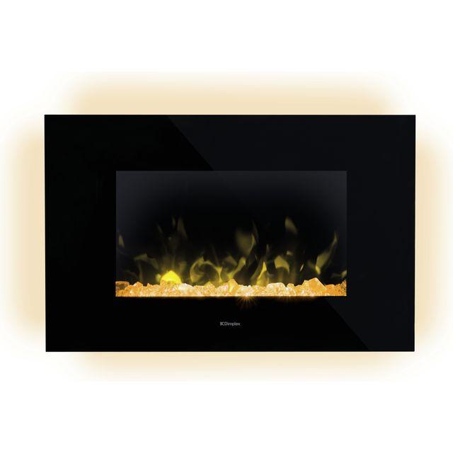 Dimplex Toluca TLC20LX Log Effect Electric Stove - Black