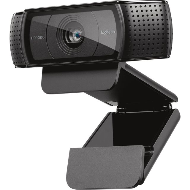 Logitech HD Pro C920 Webcam Black - 960-001055 - 1