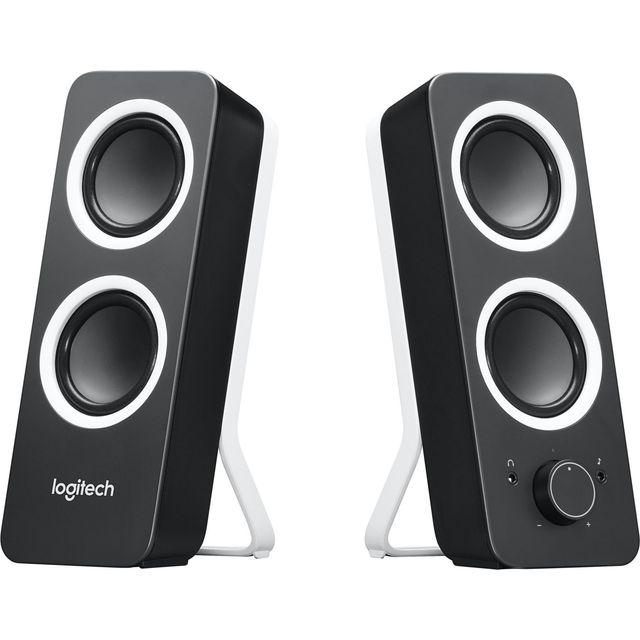 Logitech Z200 PC Speakers - Black - 980-000812 - 1