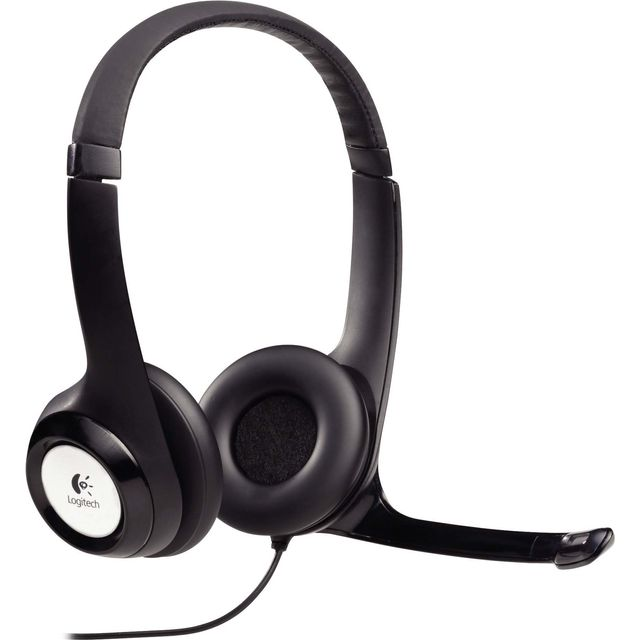 Logitech USB H390 Full Size On Ear Headset - 981-000406 - 1