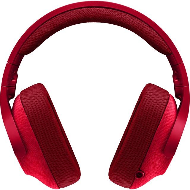 Logitech G433 981-000652 Headset in Red