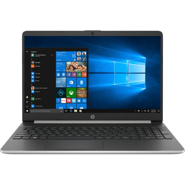 """HP 15s-fq0017na 15.6"""" Laptop - Natural Silver"""