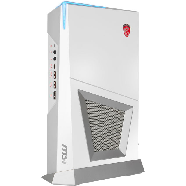 MSI 9S6-B92012-088 Gaming Desktop in White