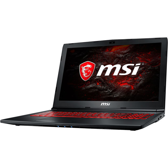 "MSI GL62MVR 7RFX-1269UK 15.6"" Gaming Laptop - Black"