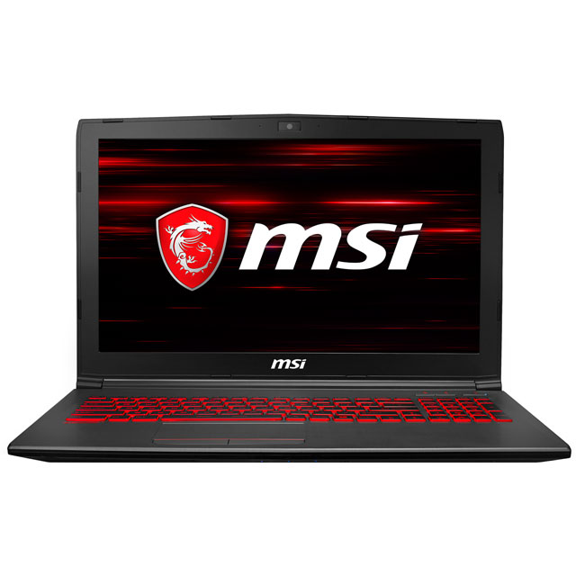 "MSI GV62 8RD - 211UK 15.6"" Gaming Laptop - Black - 9S7-16JF42-211 - 1"