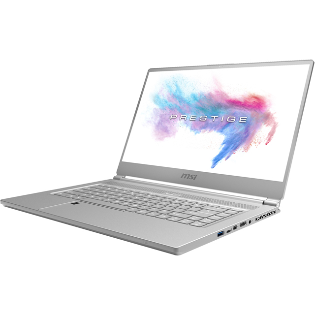 "MSI P65 Creator 8RE-036UK 15.6"" Laptop - White - 9S7-16Q312-036 - 1"