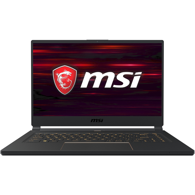 "MSI GS65 Stealth 8SF-063UK 15.6"" Gaming Laptop - Black - 9S7-16Q411-063 - 1"