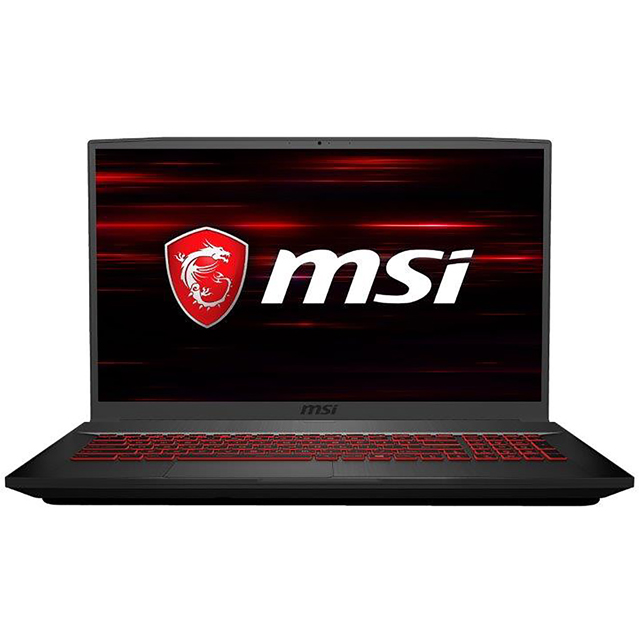 "MSI GF75 Thin 9SC 17.3"" Gaming Laptop - Black - 9S7-17F212-051 - 1"