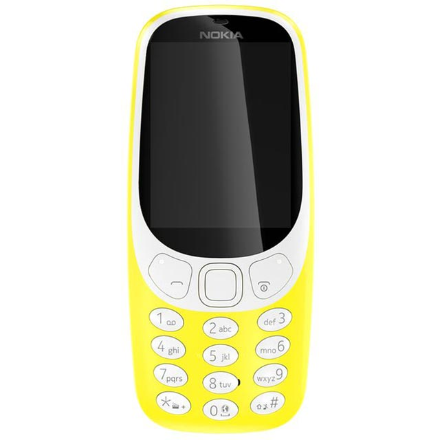 Nokia Nokia 3310 A00028123 Mobile Phone in Yellow