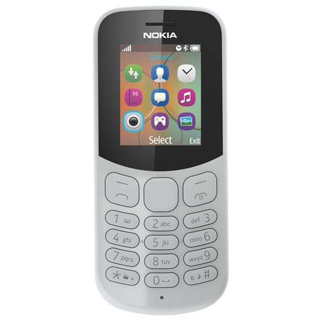 Nokia 130 Candy Bar in Grey