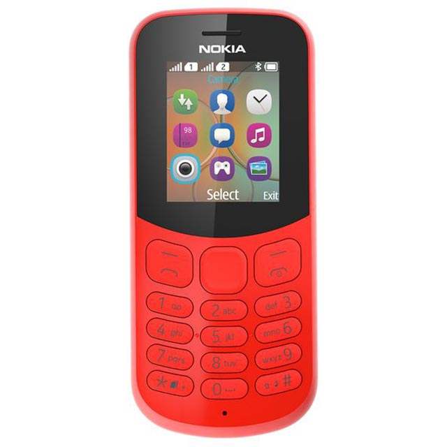 Nokia 130 A00028658 Mobile Phone in Red