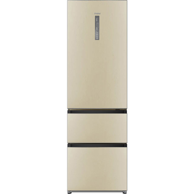 Haier 60/40 Frost Free Fridge Freezer - Cream - A+ Rated
