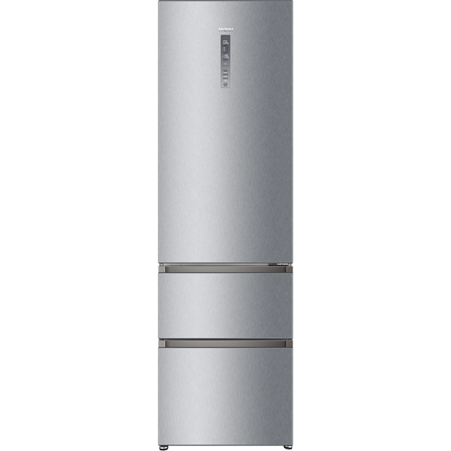 Haier A3FE737CMJ 70/30 Frost Free Fridge Freezer - Stainless Steel - A++ Rated - A3FE737CMJ_SS - 1
