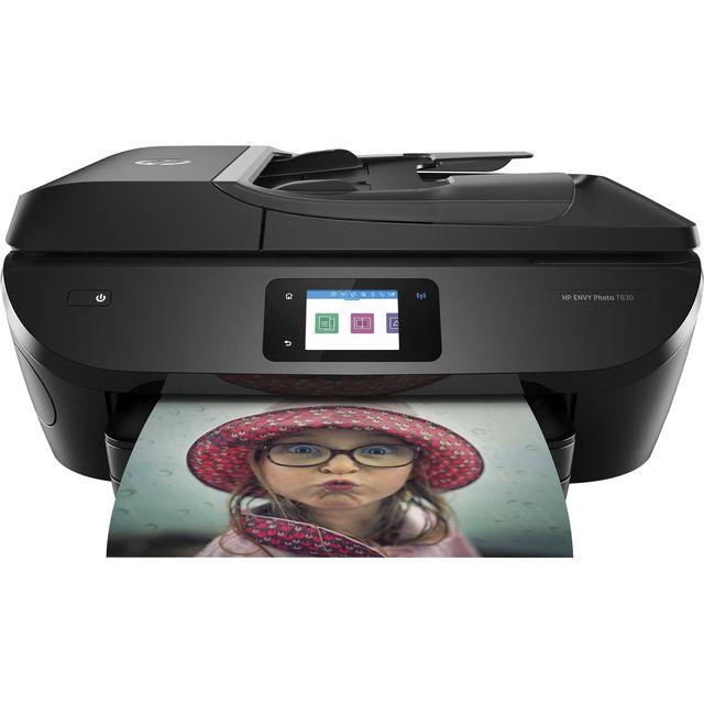 HP Envy Photo 7830 Inkjet Printer - Black