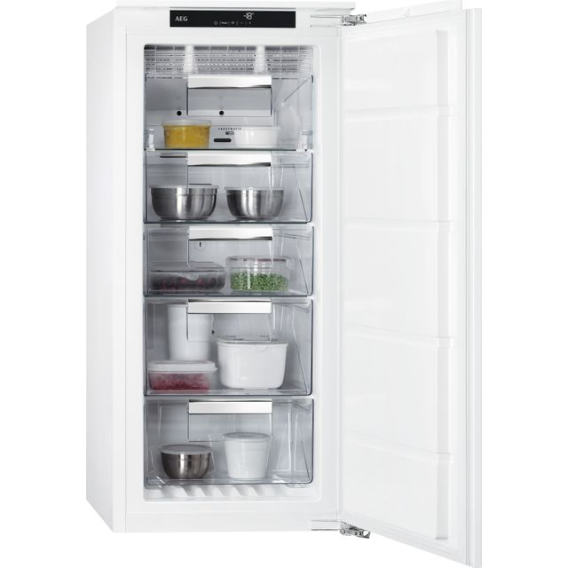 AEG ABB812E6NC Integrated Frost Free Upright Freezer with Fixed Door Fixing Kit - A++ Rated