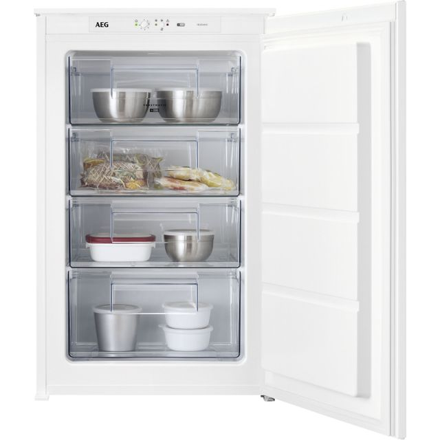 Image of AEG ABE688E1LS Integrated Upright Freezer with Sliding Door Fixing Kit - A++ Rated
