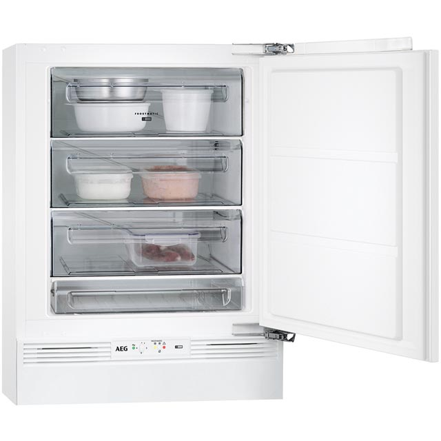 Image of AEG ABS6821LAF Built Under Freezer in White