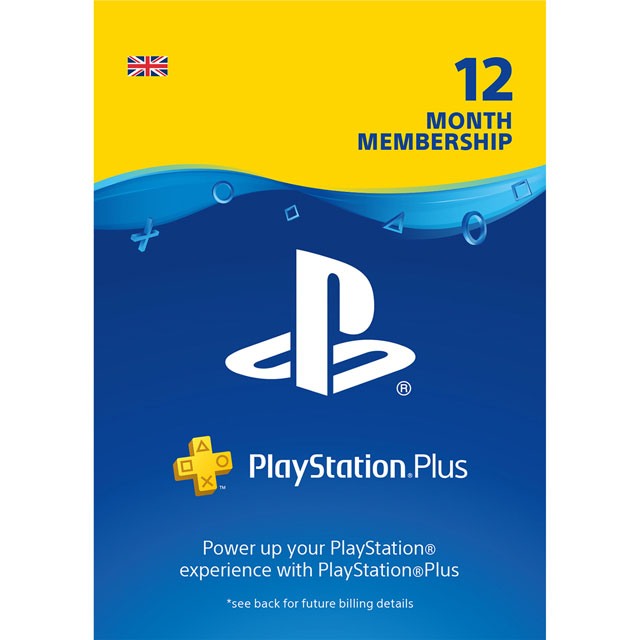 PlayStation Plus 12 Month Membership - Digital Download Code